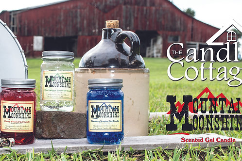 "Candle Cottage Sign - 12"" x 24"" Moonshine"