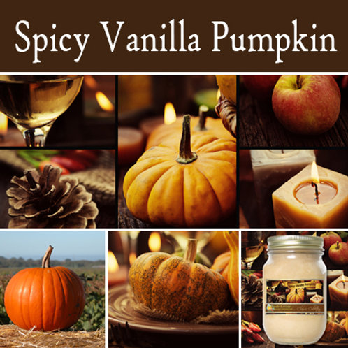 Spiced Vanilla Pumpkin