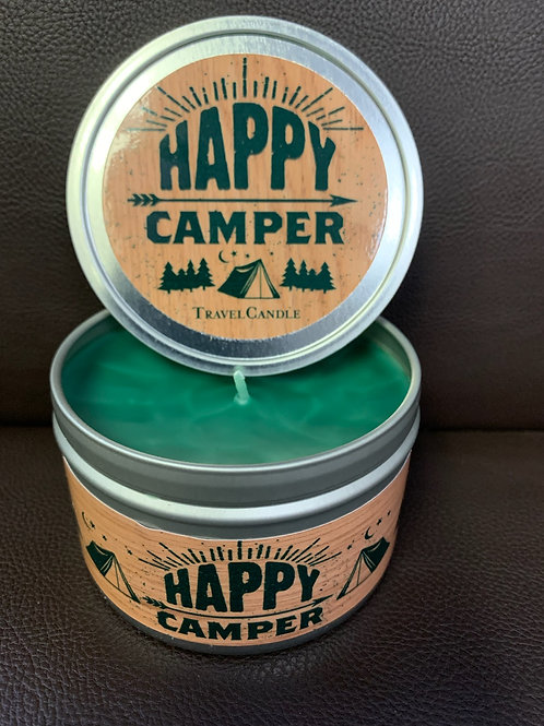 Happy Camper Tin Container