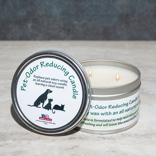 Pet Odor Reducing Candle - Citrus