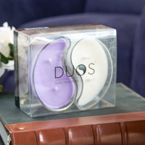 Large DUOS Candles - Lavender Blossoms/Vanilla Velvet