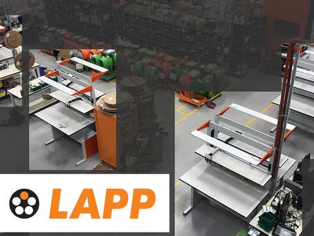 Dai colore al tuo laboratorio! Lapp Italia sceglie Maxder per allestire la sua area produttiva.