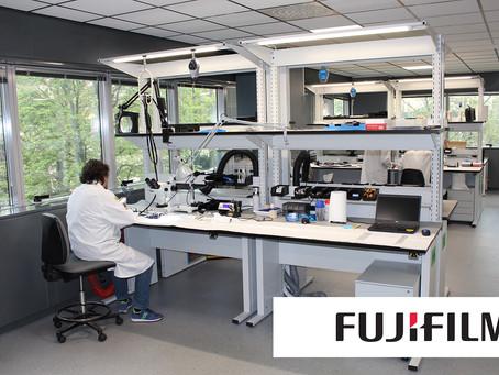 Fujifilm sceglie Maxder, per il suo laboratorio di riparazione di Cernusco sul Naviglio.
