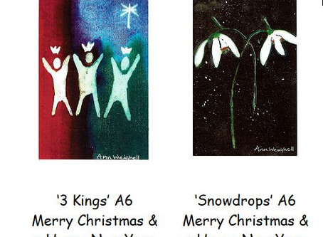 Christmas cards in aid of Duns Tew church