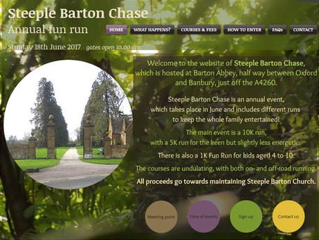 Steeple Barton Chase: Sunday 18th June 10am