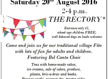 Wescote Barton church fete