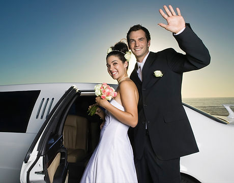 Wedding Limousine wedding shuttle bus cleveland wedding transportation