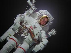 Liz in Space Suit