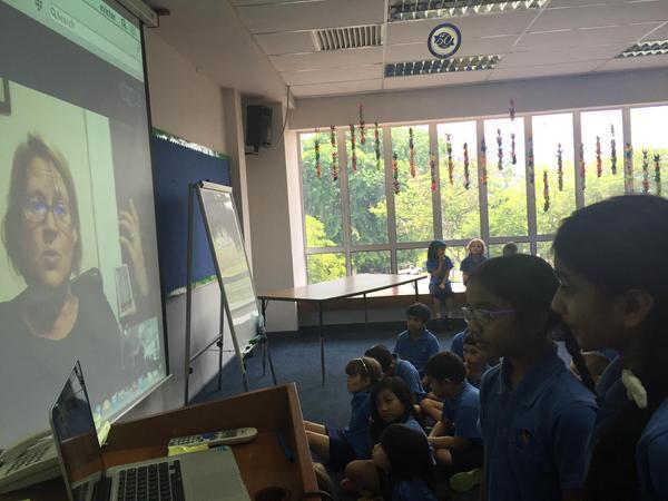 Skype visit May 2015