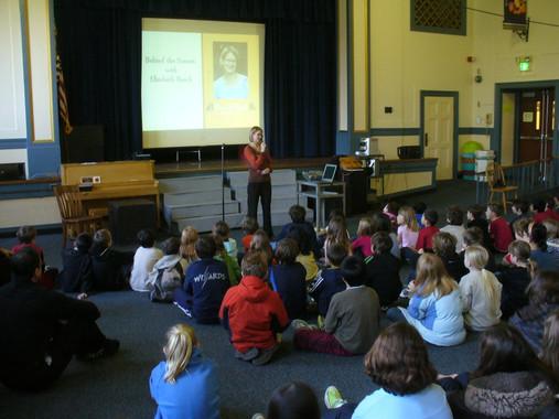 Winter Haven School visit