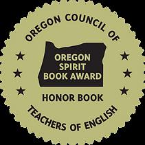 Oregon Book Award Seal honor rev kenny.p