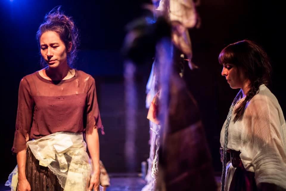 Yvonne Wan (Mona) and Marta Da Silva (Hanna)