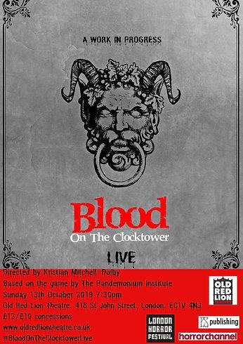 Blood On The Clocktower - Main Poster.jp
