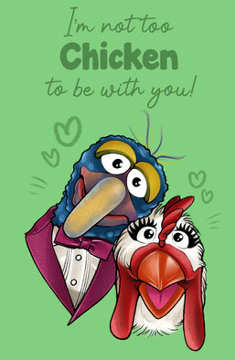 Gonzo Greeting Card
