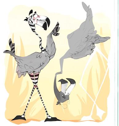 Zebracadabra - Flamingo Rough