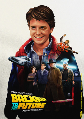 Back to the Future Trilogy Poster