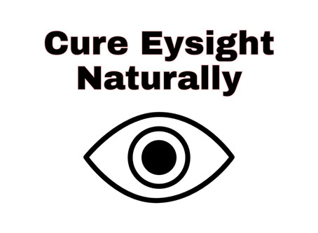 How to improve Eyesight Naturally at Home.