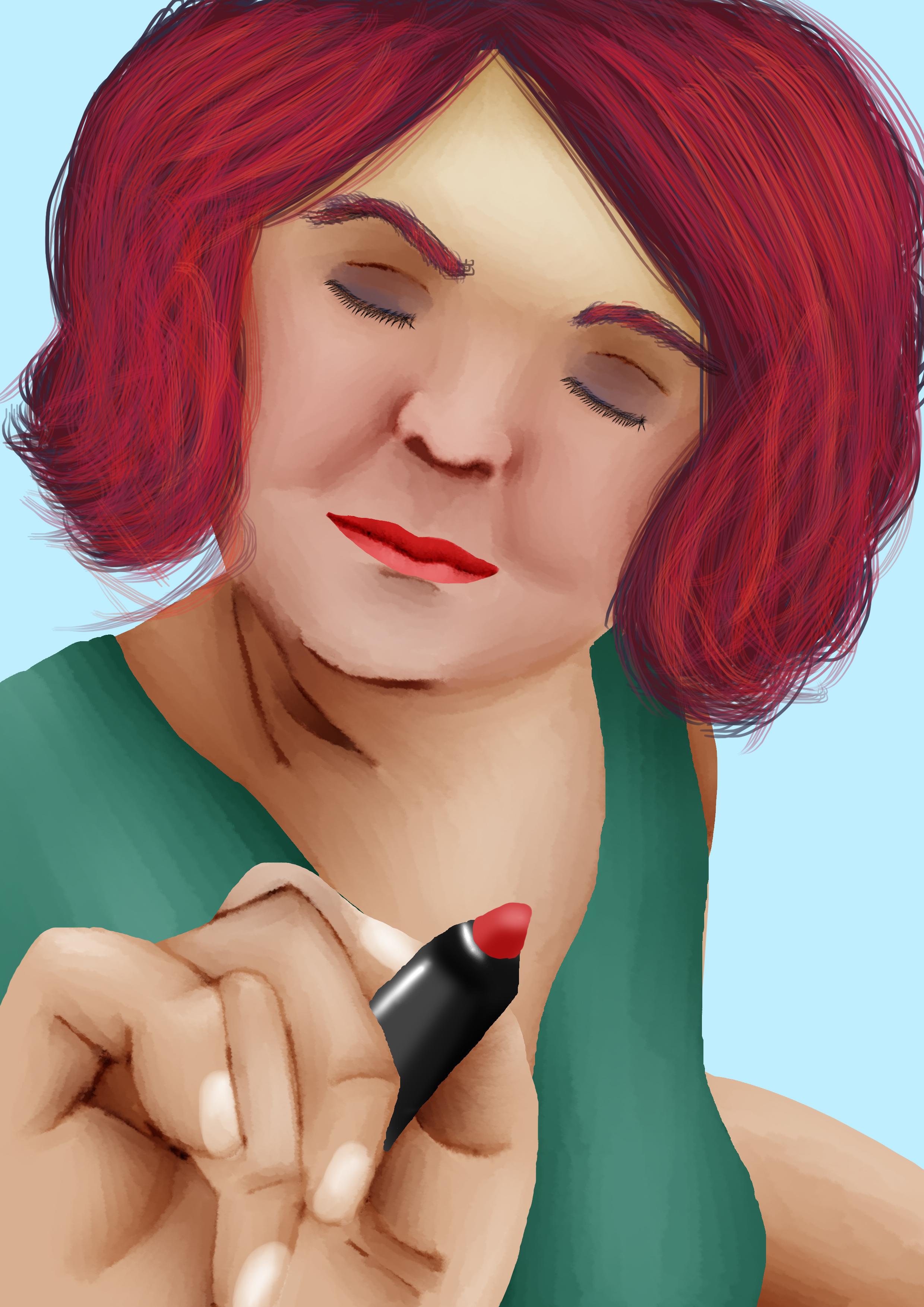 Lipstick?