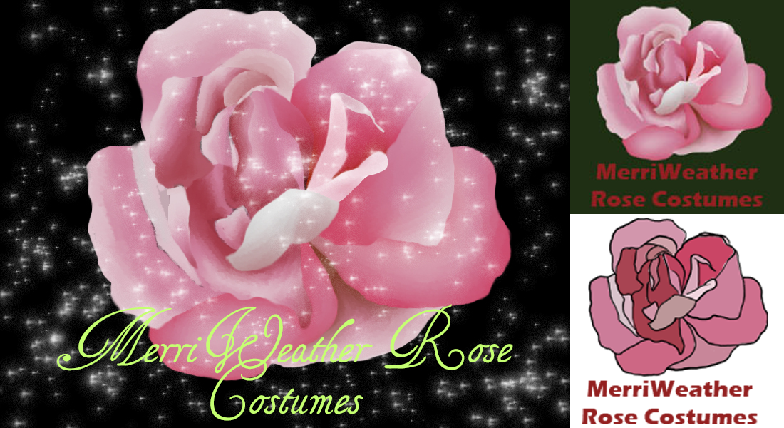 MerriWeather Rose Costumes branding