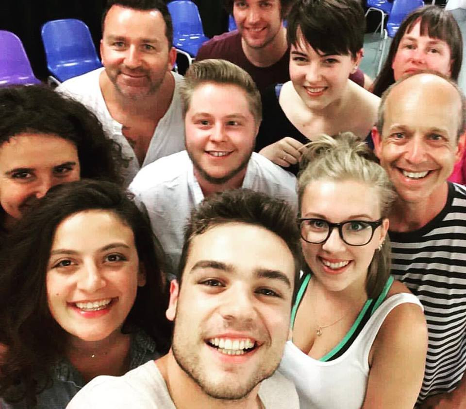 My beautiful Mountview Academy Short Course class lead by the incomparable Eddie Gower and Cameron Jack