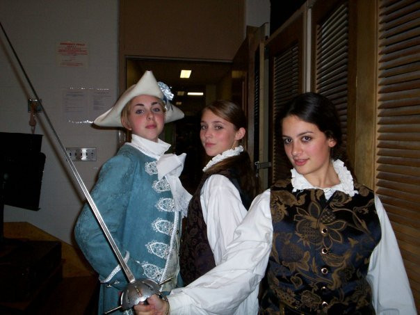 Playing Tybalt in Monument Mountain Region High School's Romeo & Juliet (Fall Festival of Shakespeare, 2006)