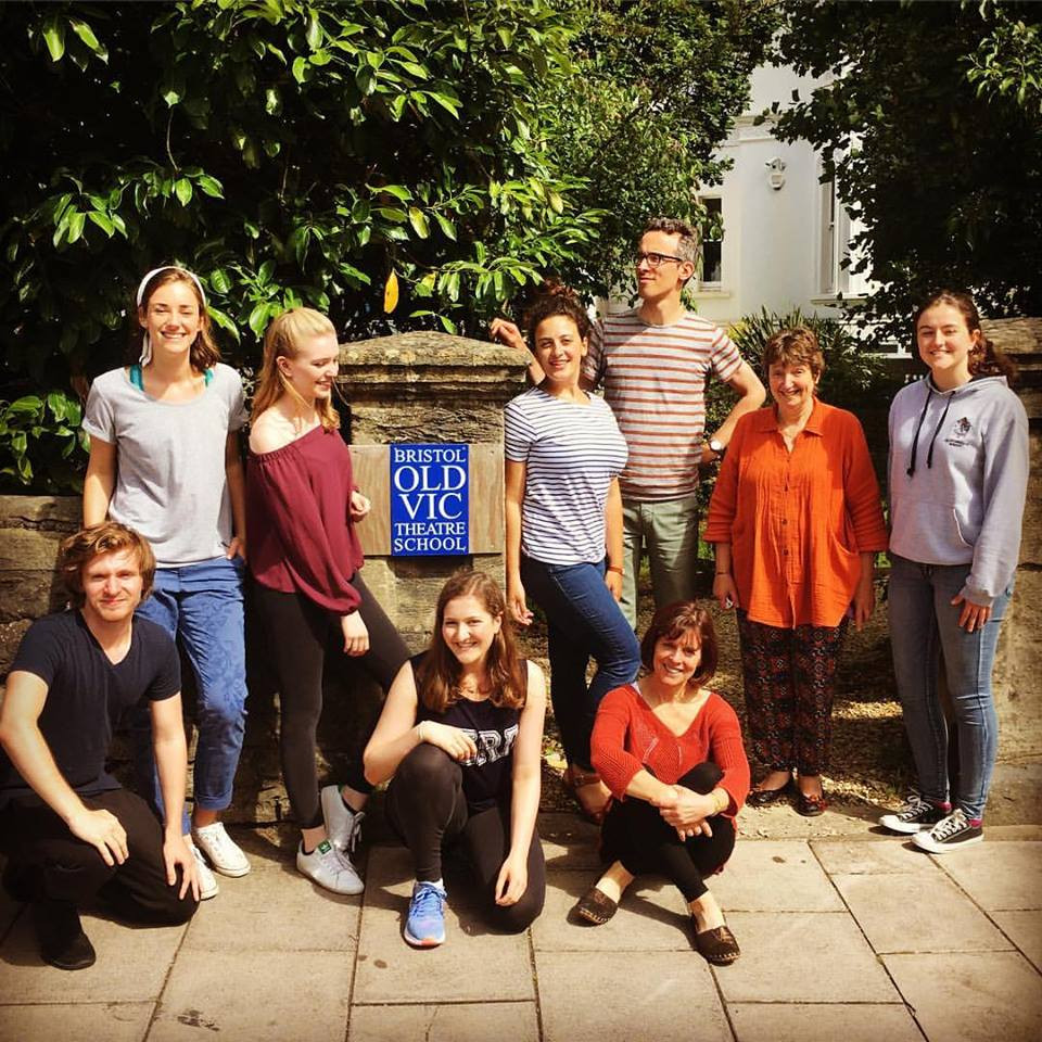 With my wonderful classmates on the Sing Out! Short Course at BOVTS lead by the remarkable Pam Rudge