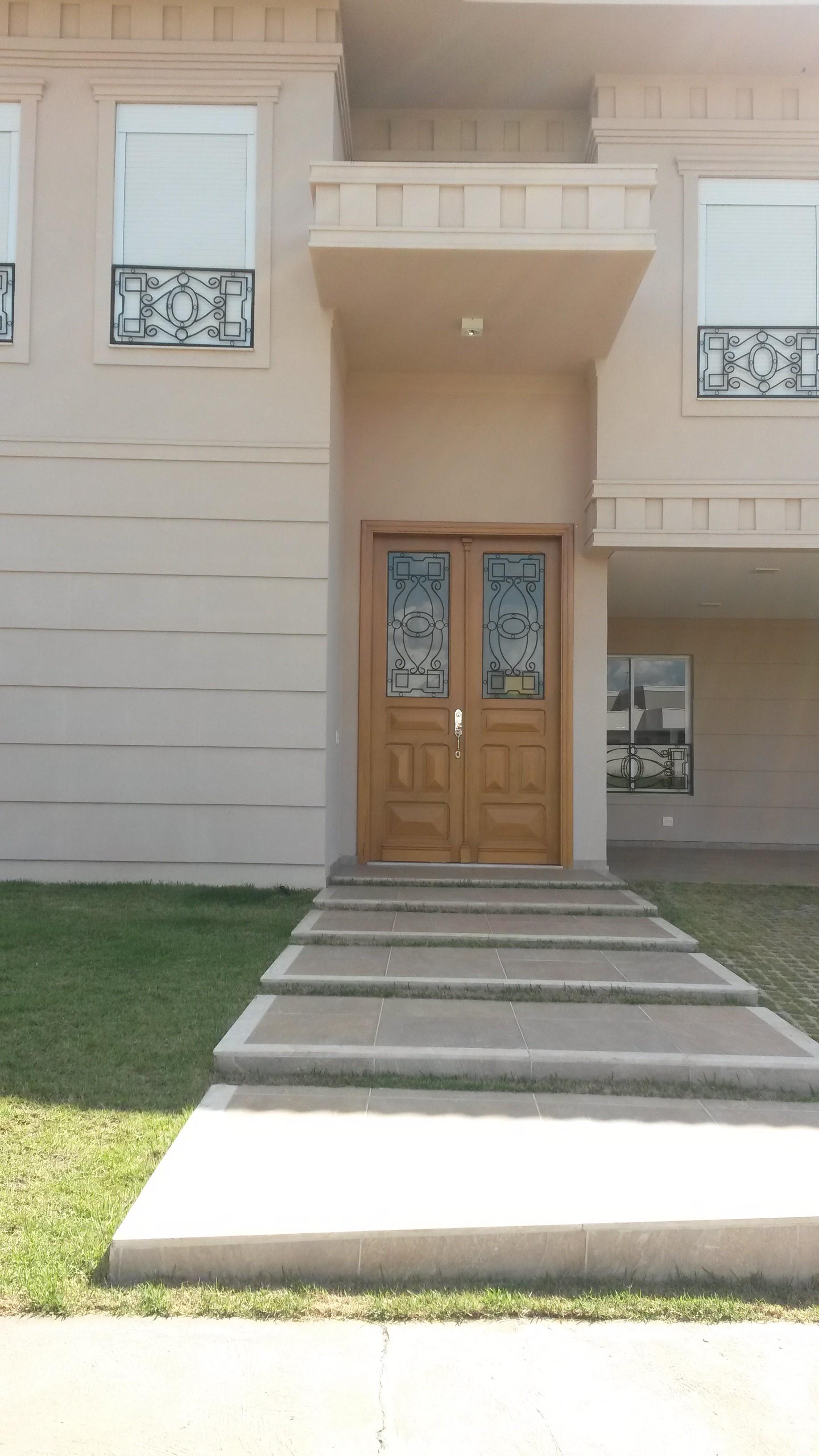 porta dupla de grade