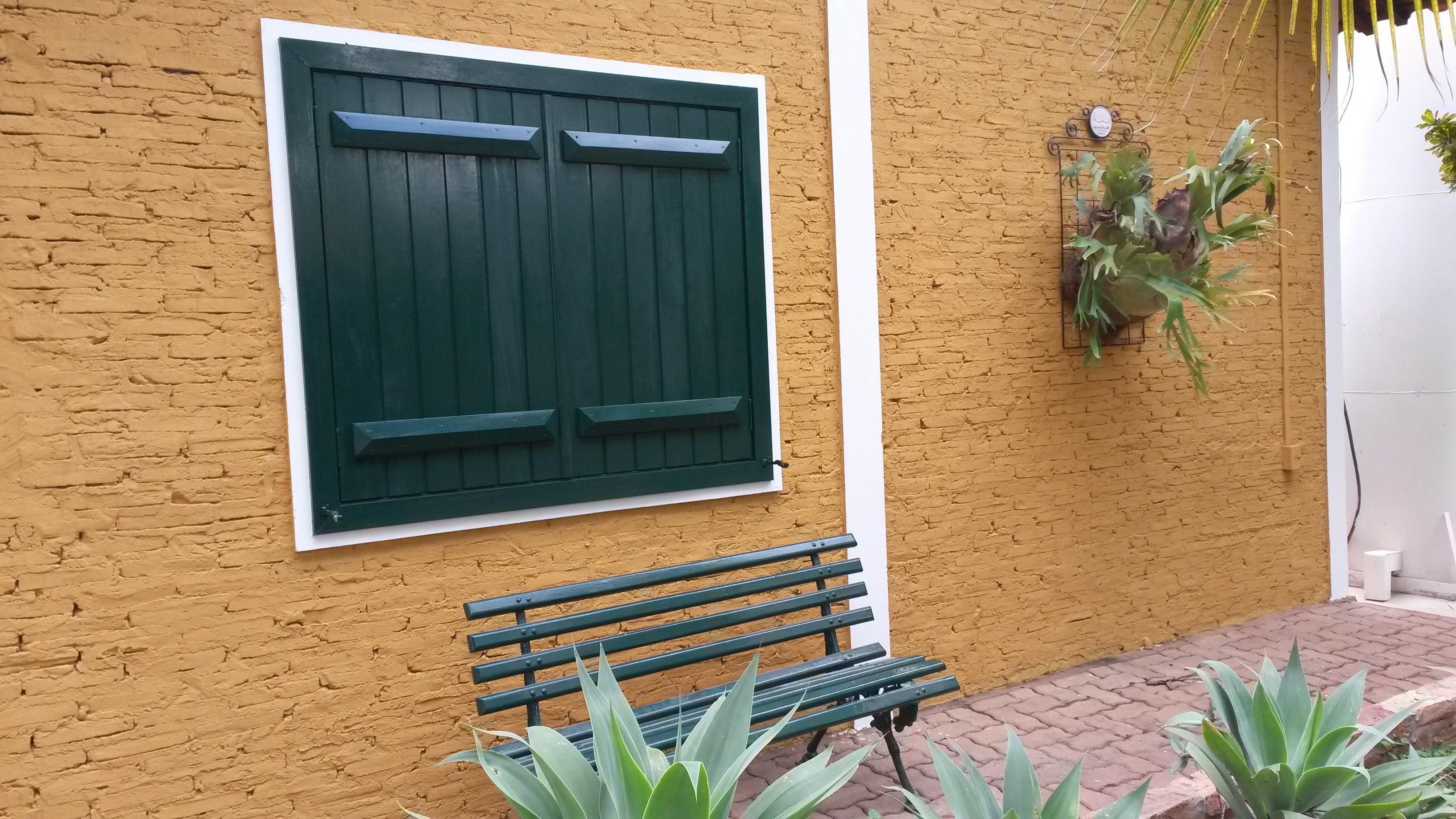 janela verde
