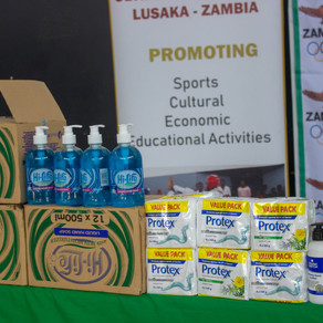 NOCZ DONATES TO OLYMPAFRICA CENTRE