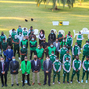 CONFIRMED: Zambia's 30-member athletes team for Tokyo Olympics.