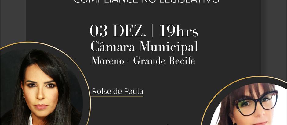"Workshop ""A Importância do Compliance no Legislativo"""