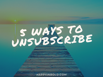 5 Ways to Unsubscribe