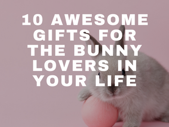 10 Awesome Gifts for the Bunny Lovers in Your Life