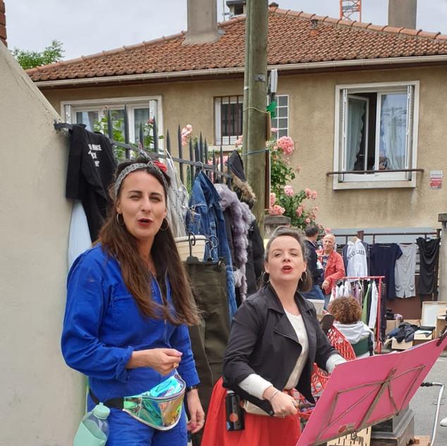 Les Enjoliveuses à Brazzabroc 2019
