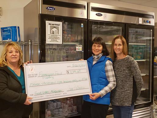 Community Chest Funds Dairy Program