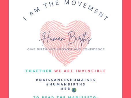 MANIFESTO of the human births movement