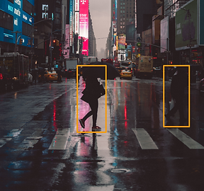 Pedestrian and object detection