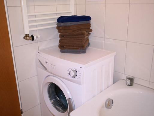 1-2-3 und die Wäsche ist fertig..