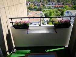 Balkon mit Ausblick!