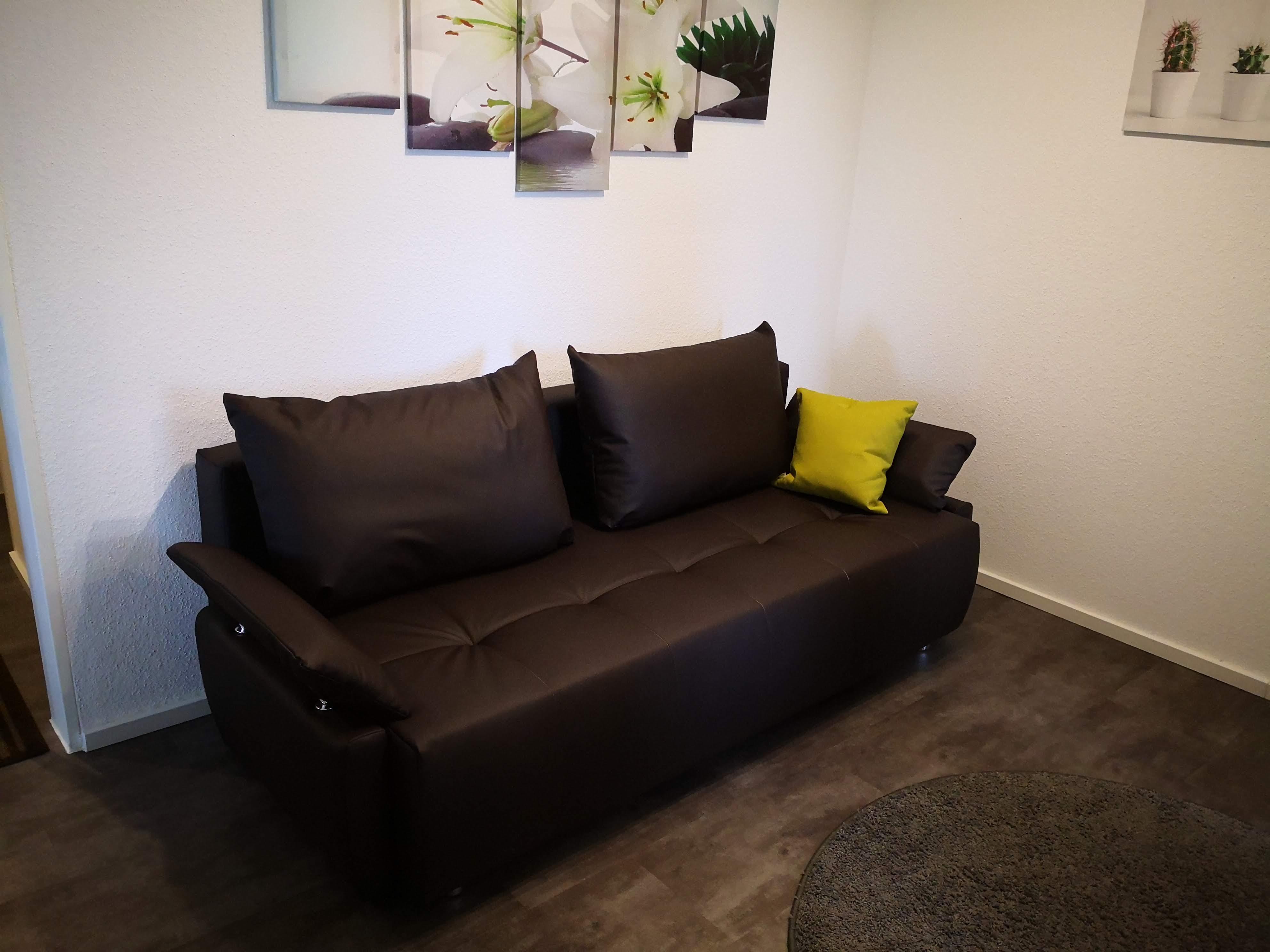 Moderne Sitz und Schlafcouch