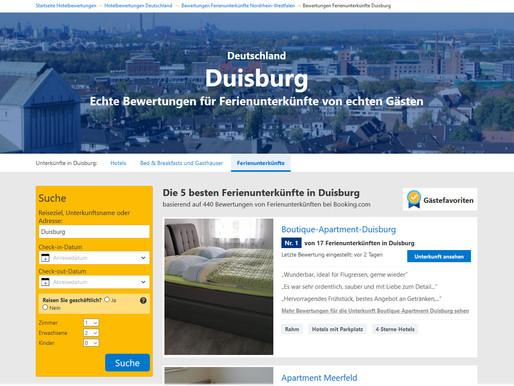 Die 5 besten Ferienunterkünfte in Duisburg