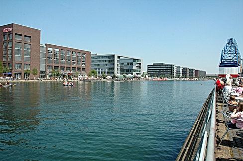 Innenhafen-Gastronomie von Duisburg
