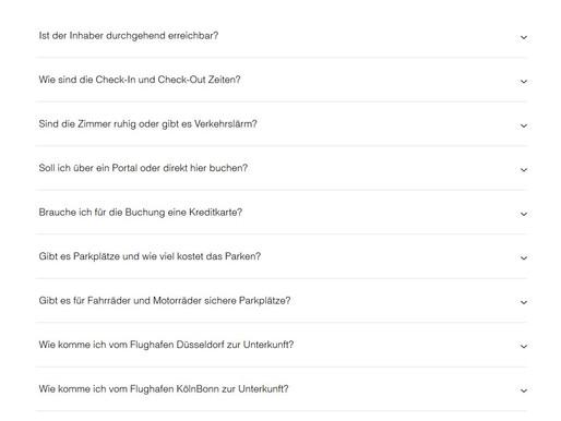 """Ab sofort mit """"Hilfeseiten"""" FAQ bei Casa-Celina"""