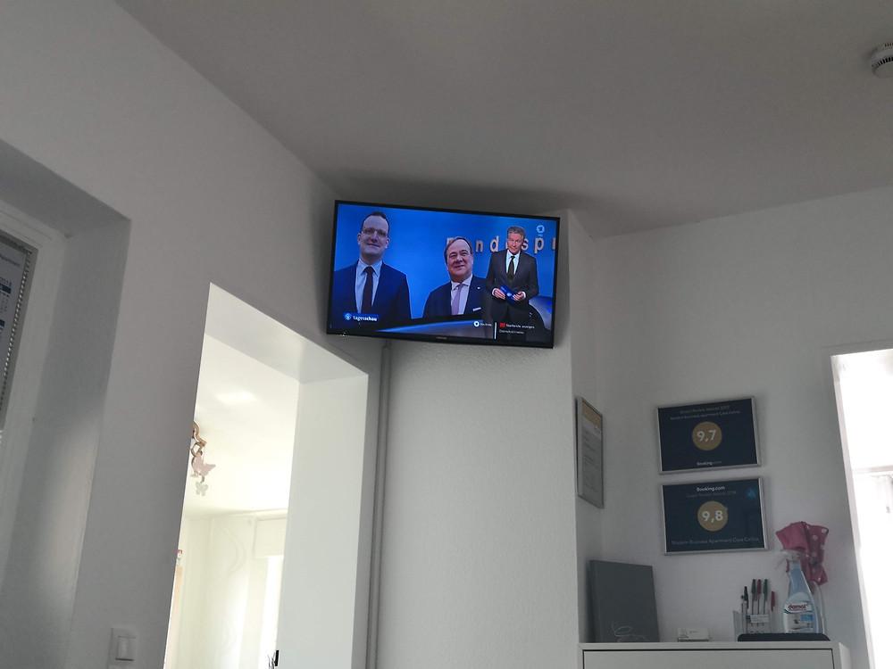 Endlich hat auch das letzte Zimmer einen Smart TV bekommen