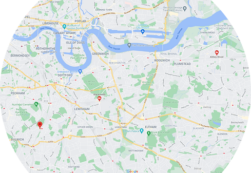 SE London and Croydon map.png