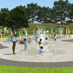 60% of people survayed think the Splash Park should be funded via fundraising. 65% think the funds should come from St Neots Town Council CIL fund.