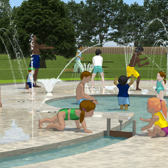 82% of people survayed would like a Splash Park in St Neots
