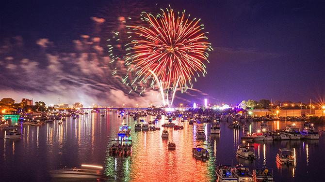 Bay City Fireworks 2017