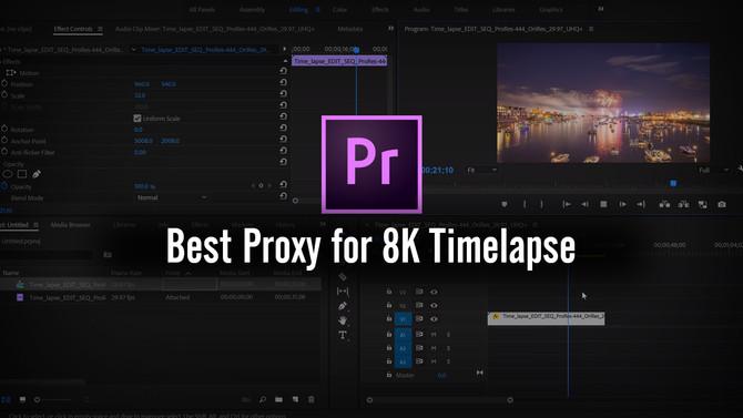 How to edit 4k, 6k, 8k video in Premiere Pro