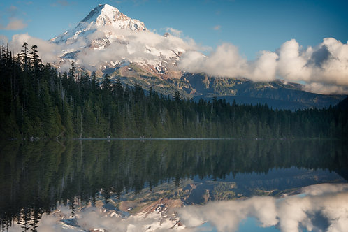 Mt. Hood reflection | Stock | Royalty Free